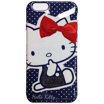 正版!!!日本原廠授權【MIKO手機館】GD iPhone6 Hello Kitty 外殼 背蓋 高靭性軟殼(ID5)