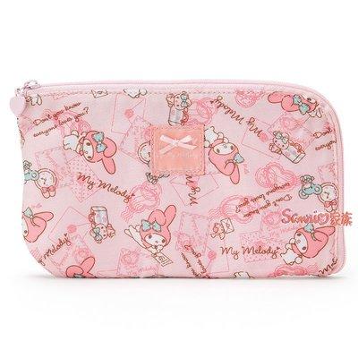 《東京家族》日本三麗鷗 Melody 美樂蒂 護照包 收納包 旅行包 萬用包 證件包