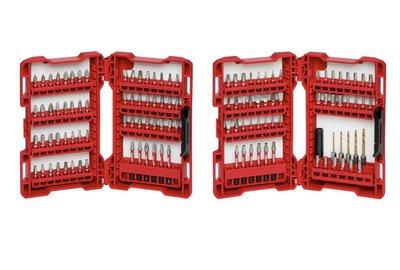 米沃奇SHOCKWAVE(120件)頂級矩陣合金衝擊起子電鑽用綜合配件套組