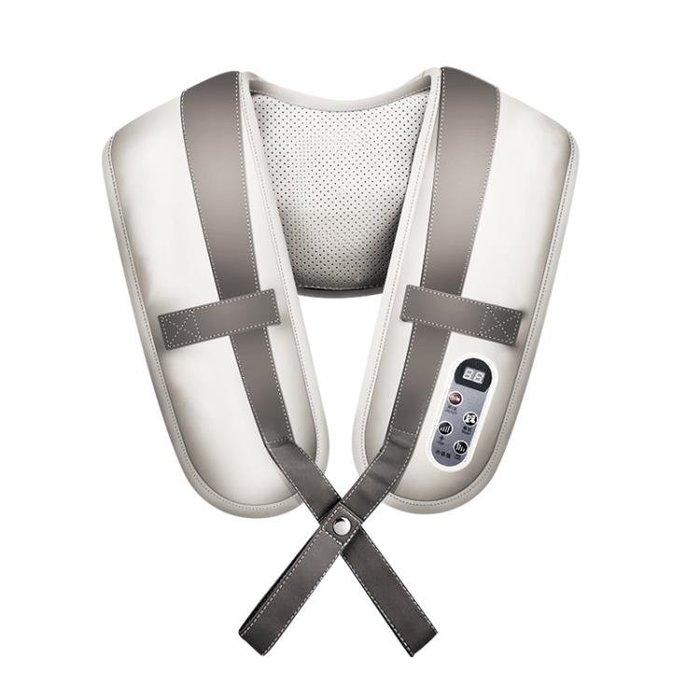 按摩器蒸舒康肩頸按摩披肩頸椎按摩器頸部電動捶打加熱肩背按摩器頸肩樂CENX12370