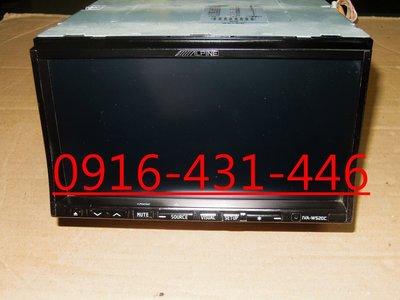 ALPINE IVA- W520C  IPOD/IPhone/DVD/USB 7吋藍芽觸控螢幕主機 附線組 遙控器