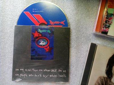 搞怪名祖 碧玉Bjork best mixes debut專輯6首歌混音1994歐版CD@white labels 王菲