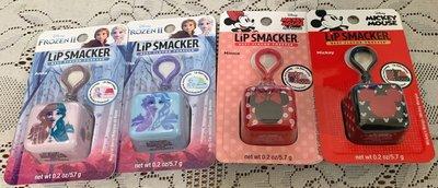 美國 Lip Smacker [ 冰雪奇緣 / 米奇米妮冰塊立體造型吊飾護唇膏 ] Frozen II 四款可選 全新