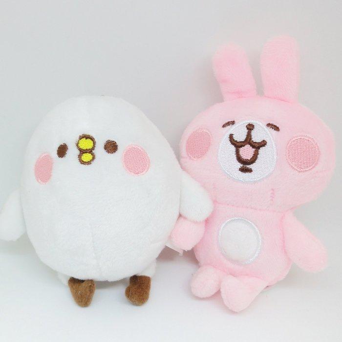 【UNIPRO】Kanahei 卡娜赫拉的小動物 小雞P助 粉紅兔兔 絨毛玩偶 娃娃 珠鍊吊飾 三貝多正版授權