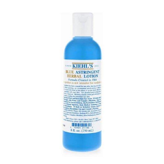 【大韓美妝館】Kiehls契爾氏Blue Astringent Herbal Lotion藍色收斂水250ml
