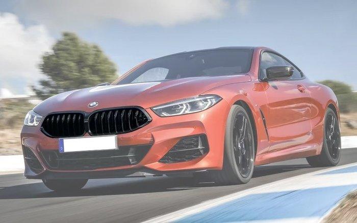 【樂駒】BMW 8er G15 高亮黑 水箱罩 原廠 Grill front 黑鼻頭 進氣 系統 空力 改裝