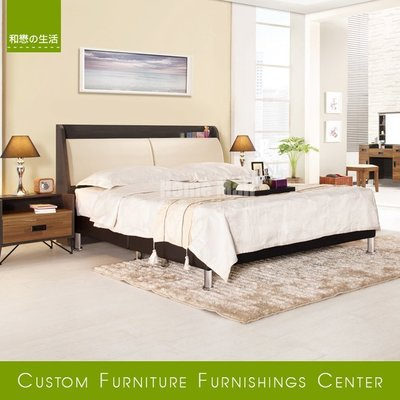 HOME MALL和懋傢俱~柏德雙人加大6尺床箱式床架 $14200~(雙北市1-4F免運費)8C
