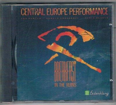 音樂CD-CENTRAL EUROPE PERFORMANCE/BREAKFAST IN RUINS(89329)全新