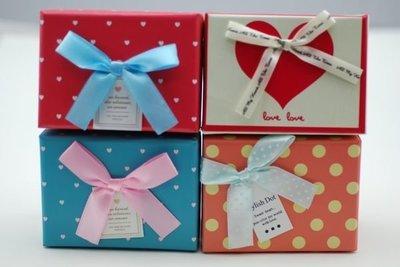 韓國愛心點點包裝盒-甜點/手工皂/餅乾糖果/婚禮紙盒/禮物盒/紙盒/禮品包裝盒