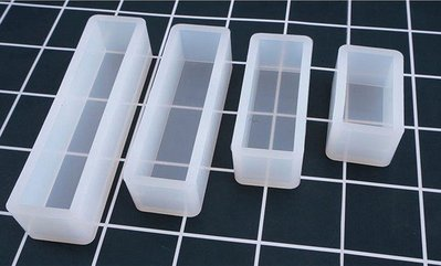 多款 長方體 矽膠模具 8.8*6.7cm*2.2cm (水晶膠 UV膠 Epoxy 環氧樹脂)