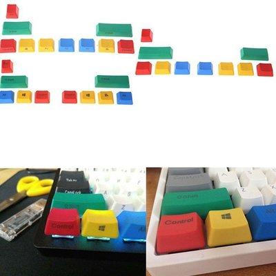 RGBY 機械鍵盤維修套件 更換鍵帽 Cherry height 新設計PBT鍵盤按鈕套SEER-55@da90099