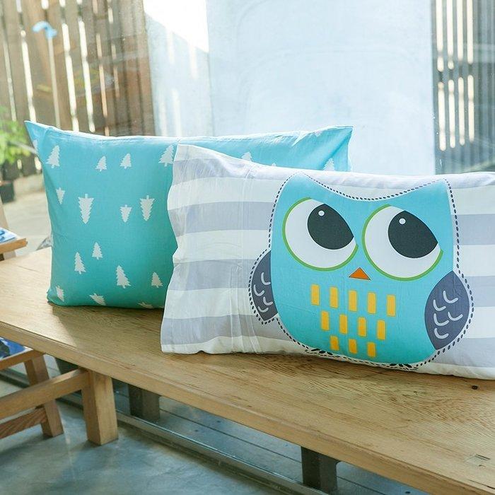 枕套 / 枕頭套【遇見朵朵-三款可選】美式信封枕套,100%精梳棉,奇妙童話時光,戀家小舖台灣製