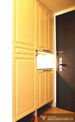 【歐雅系統家具】鄉村風/古典風/系統家具玄關櫃/系統家具櫥櫃/系統家具收納櫃/系統家具鞋櫃