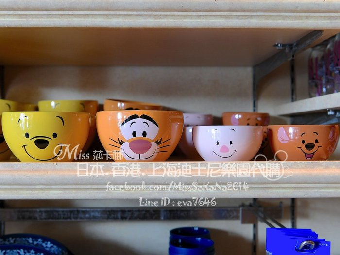 Miss莎卡娜代購【東京迪士尼】﹝現貨+預購﹞維尼家族 維尼熊 跳跳虎 陶瓷碗 大飯碗 (另有小豬 小袋鼠小荳)