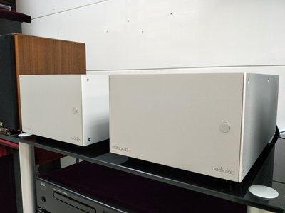 【興如】Audiolab 8300-MB 單聲道後級擴大機 來店優惠 另售M-ONE QUAD QSP CDP PRE