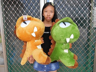 鳳山娃娃館~超大暴龍娃娃~高55公分~超大恐龍娃娃~恐龍玩偶~暴龍玩偶 暴暴龍娃娃~生日/情人禮物~全省配送