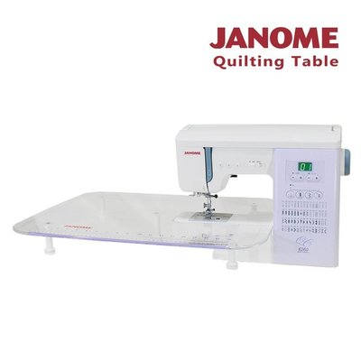 【小布物曲】78折~日本車樂美JANOME Quilting Table 專用縫紉輔助桌(6260機種適用)