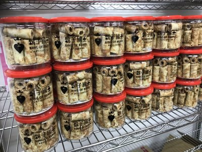 現貨 鬍子國王 蛋捲 手工蛋捲 隨手罐 奶油 黑麥-南非商店