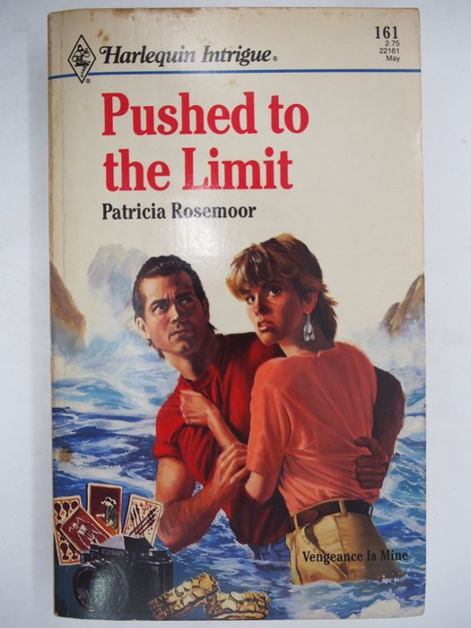 【月界二手書店】Pushed To The Limit(絕版)_Patricia Rosemoor 〖外文小說〗CJO