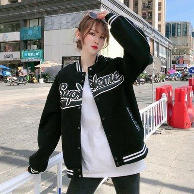 炸街外套女春秋裝2020年新款韓版寬鬆飛行員夾克棒球服ins潮 【雙11】