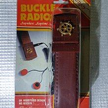 80年代  香港制造 皮帶收音機,一物兩用,已換新電 $60元  要海棉加5元 老香港懷舊物品