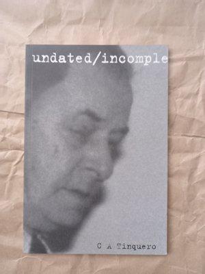 西洋文學/(絕版)C A Tinquero-Undated/Incomplete