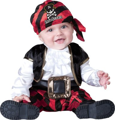 海盜小船長 Cap'n Stinker Pirate Infant / Toddler Costume