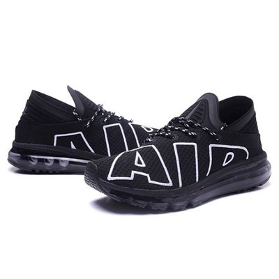 @ NIKE AIR MAX FLAIR 大氣墊 黑白色 大AIR 慢跑 全黑色 男鞋 942236 001 YTS