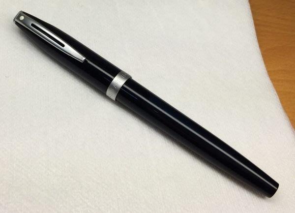 威利的鋼筆世界【西華新款平價鋼筆大集合】九成新 SHEAFFER 黑鋼筆 F