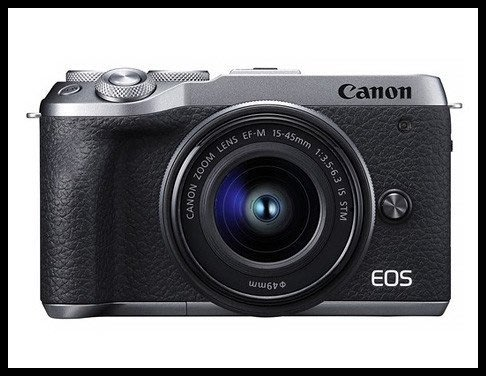 【eWhat億華】Canon EOS M6 Mark II  搭 15-45MM EOS M6M2 EOSM6II 平輸 繁中 銀色 EOSM6 【3】