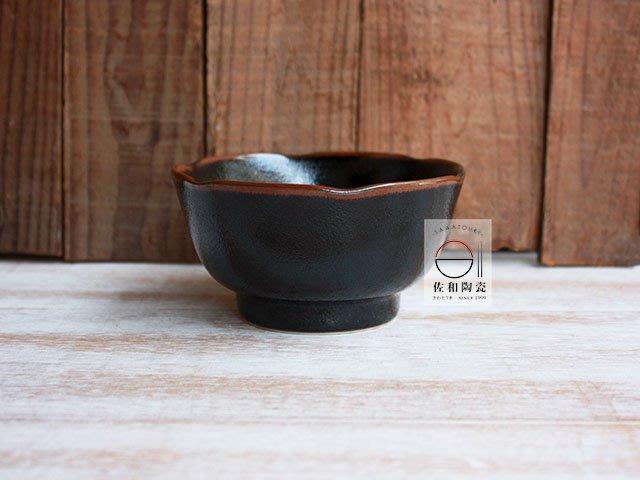 +佐和陶瓷餐具批發+【XL070529-9 黑天目3.6井-日本製】日本製 小缽 碗缽 定食餐 小菜 甜點 和食料理