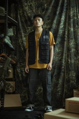 """GHK - """"Abstract Collection"""" Airsoft Vest 戰術背心-軍事 工裝 高端 潮流 街頭"""