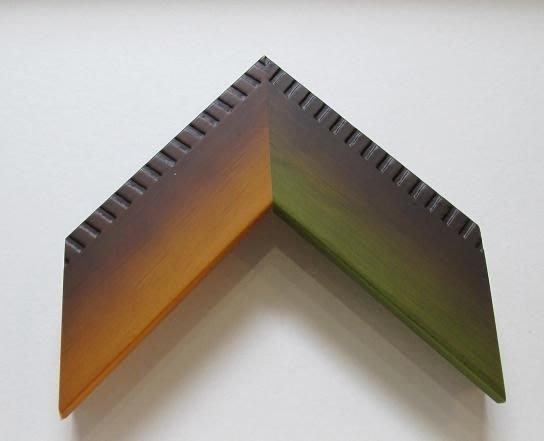 (藝) 精美木框訂製  外缘刻痕漸層平框   請看價目表及訂框說明   其他尺寸請先提問確認