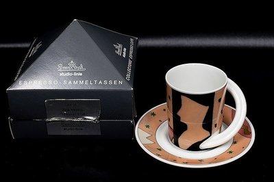 *JAZZ 棧 *德國羅森泰Rosenthal Cupola Espresso 圓弧把手濃縮杯 未使用一級典藏品25