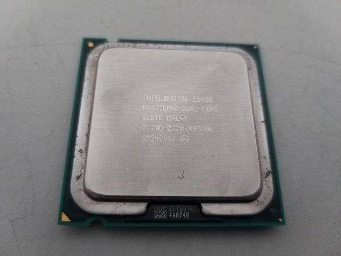 台中,太平,大里,一中街電腦維修 - 中古 INTEL LGA 775 E5400 2.7G (CPU + 風扇)