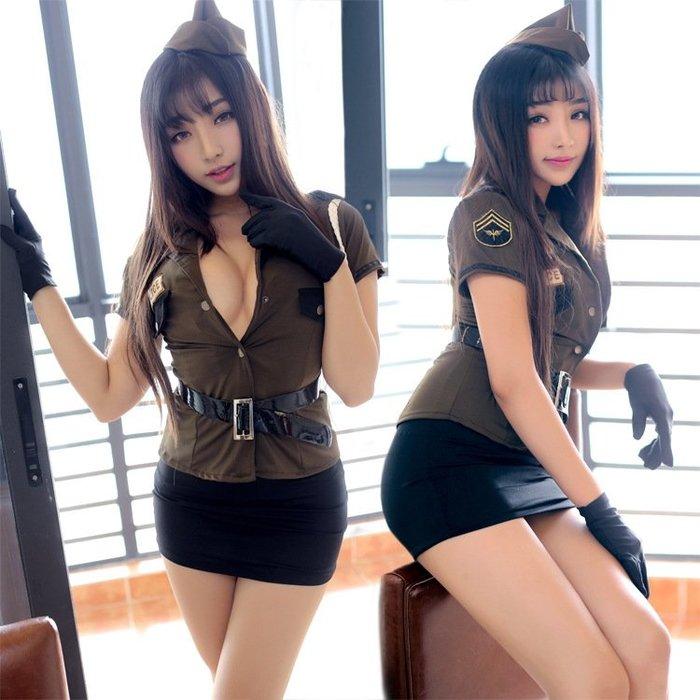 情趣內衣服空姐制服誘惑性感挑逗激情套裝帥氣女警官cos角色扮演