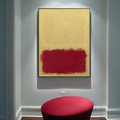 C - R - A - Z - Y - T - O - W - N MARK ROTHKO藝術 抽像 掛畫 客廳現代簡約