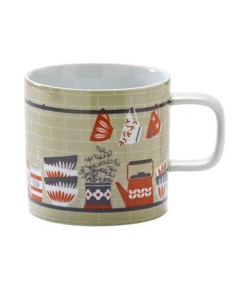 英國Typhoon 北歐家庭廚房佈景風格設計馬克杯(卡其色)-現貨免運