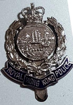 香港殖民年代警帽徽