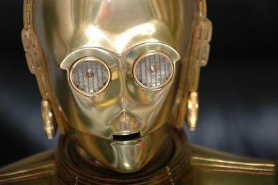 【烏龍1/2】sideshow ps3 星際大戰 Star Wars 黃金 機器人 C-3PO 1:1 半身 胸像 Life-Size Bust