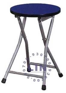 【品特優家具倉儲】R968-11折合椅吧台椅優惠價木心板烤銀腳