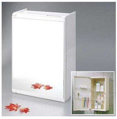 ﹢魔法廚房【衛浴精品】☆CT411塑膠單門浴櫃/單門鏡櫃~內部可收納~吊櫃