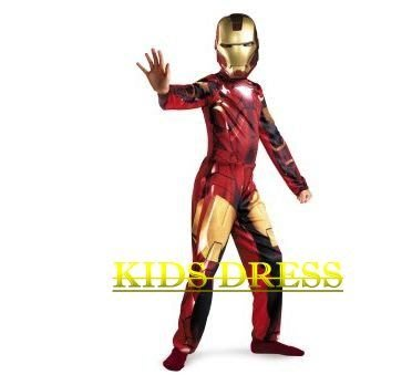 妍媽咪兒童禮服出租~大童鐵人奇跡超級英雄鋼鐵人服裝 ~萬聖節造型生日派對