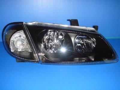 小亞車燈※全新SENTRA-180.N16黑框大燈+黑角燈只要2300元DEPO製