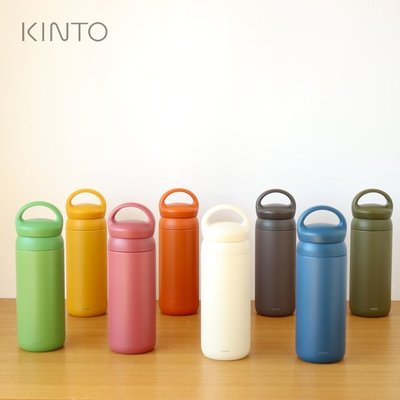 【月牙日系】現貨~日本正品 KINTO DAY OFF TUMBLER 提把式保溫瓶 500ml 不鏽鋼 保溫杯 保冷杯