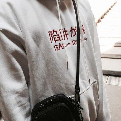 Cover Taiwan 官方直營 Trap 陷阱 饒舌 嘻哈 帽Tee 帽T 大學Tee 白色 黑色 紅色 (預購)
