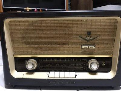 GRUNDIG古董FM.AM真空管收音機  型號: MODEL 997