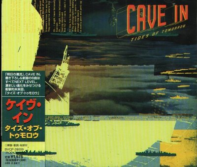 K - CAVE IN - Tides Of Tomorrow - 日版 - NEW