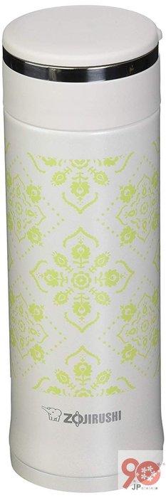 【90JP日本代購】日本 ZOJIRUSHI 象印 SM-ED30 WP 真空保溫瓶 水壺 直飲 300ml 白色