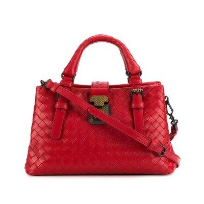 HJ國際精品館19春夏Bottega veneta 493994 mini羅馬包-6411 -CHINA RED